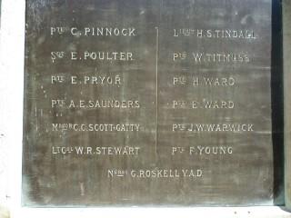 Welwyn War Memorial | Jennifer Ayto