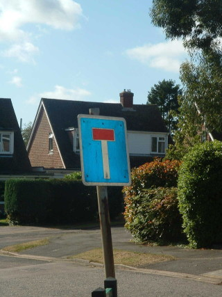 dead end   By Richard Tregoning