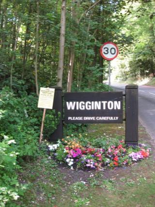 Wiggington   By Richard Tregoning
