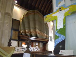 The organ in St Ippolyts Church | Fiona MacDonald