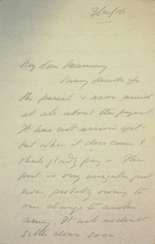 The Letters of Arthur Martin-Leake November 1916