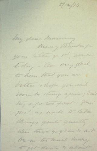 The Letters of Arthur Martin-Leake December 1916