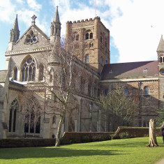 St. Albans Cathedral from the Vintry Garden | by Richard Brockbank