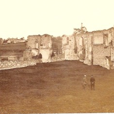 Ruins of Richard Lee's house at Sopwell about 1900