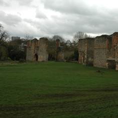 Ruins of Richard Lee's house at Sopwell