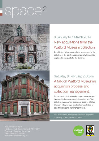 Space2 New Acquisitions | Watford Museum