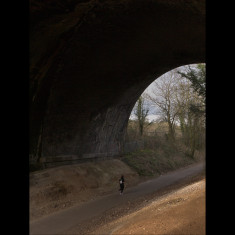 Running uphill beneath the Midland Railway Arch, St Albans, March 2010. | © St Albans Museums