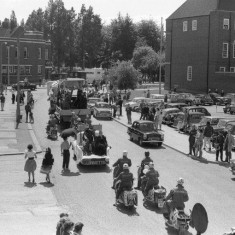 Hitchin Lambretta Club towards Broadway Cinema | John Yates