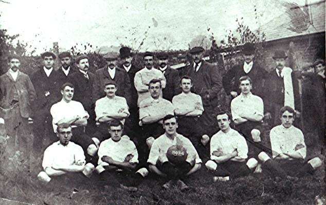 Football Club 1905/06   Geoff Webb
