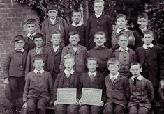 Boys School class