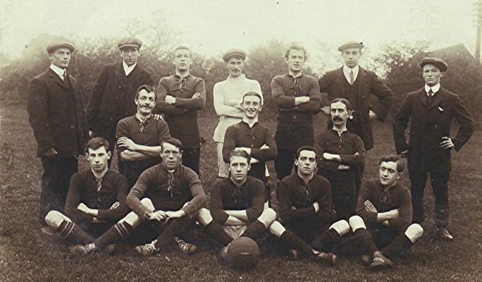 Football Team c.1910   Geoff Webb