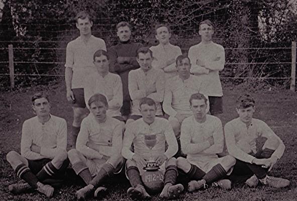 Football Team 1912/13   Geoff Webb