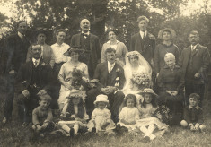 A Cheshunt wedding in 1918