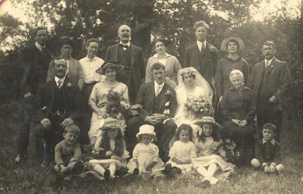 A charming family photo. | Irene Woodards
