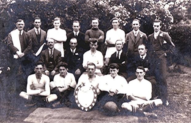 Football Team c.1920 | Geoff Webb