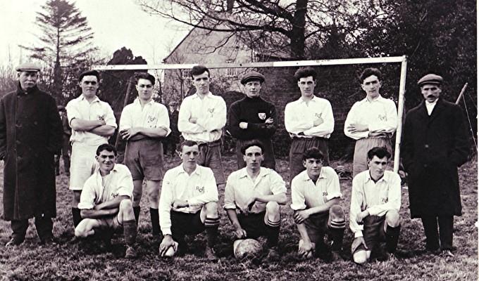 Football Team 1923/24   Geoff Webb