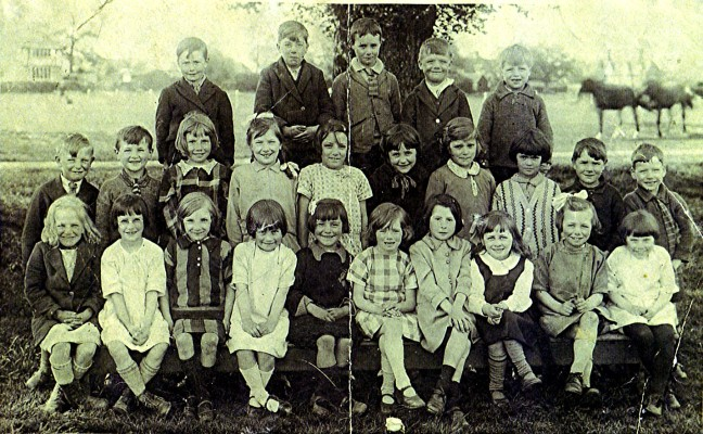 Infants School 1929 | Geoff Webb