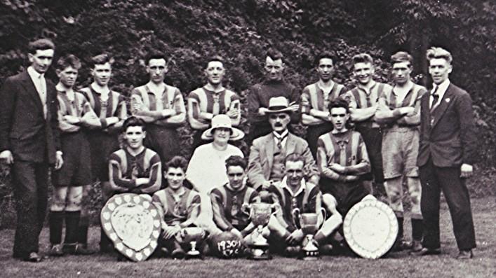 Redbourn Football Club   Geoff Webb