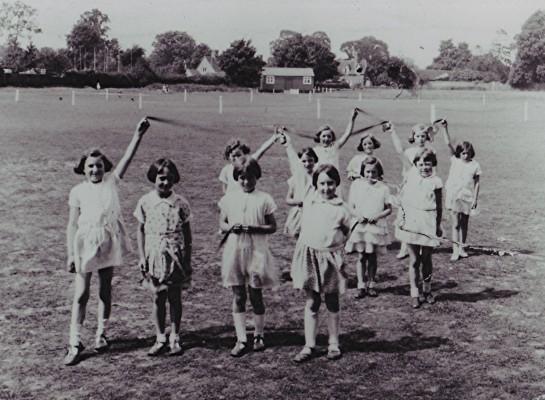 Girls School May Day celebrations   Geoff Webb