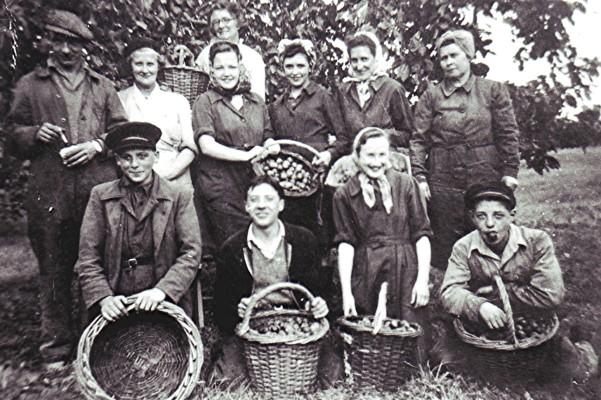 Russell Harborough Jam Factory workers | Geoff Webb