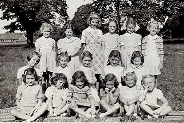 Infants School Girls Group | Geoff Webb