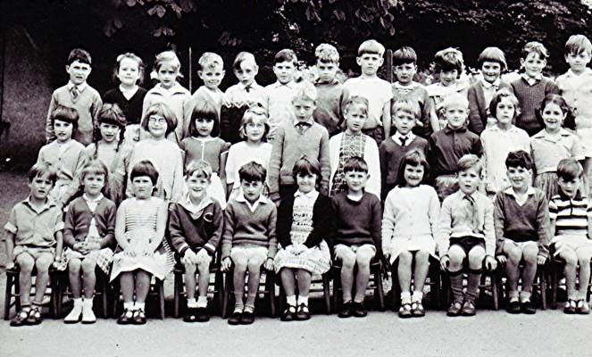 1961 Infants Class | Geoff Webb