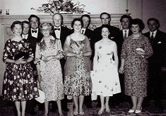 Cricket Club Dinner, c.1961
