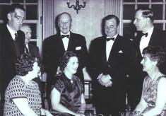 Cricket Club Dinner, c.1963
