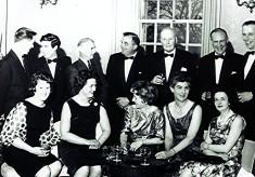 Cricket Club Dinner, c.1965