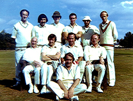 Cricket Club 2nd X1, c.1965 | Geoff Webb