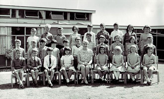 Junior School First Year Class | Geoff Webb