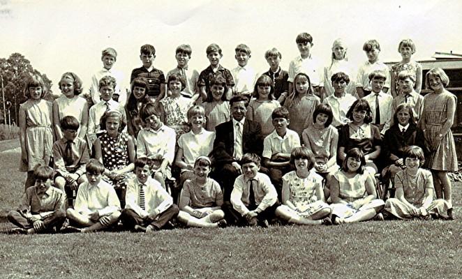 Junior School Class 1966 | Geoff Webb