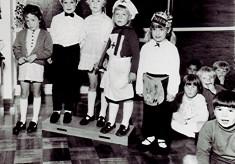 Infants School Fancy Dress, 1971