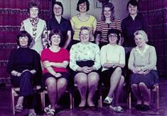 Junior School Dinner Ladies, c.1974