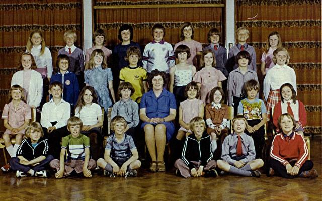 Junior School class, 1974 | Geoff Webb