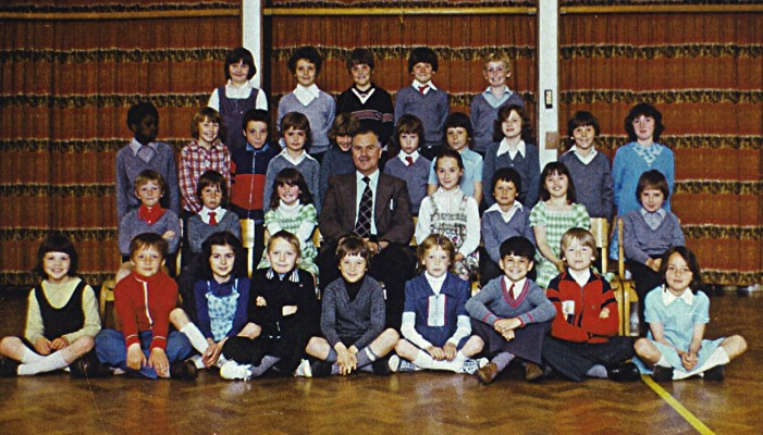 Junior School class, 1976 | Geoff Webb