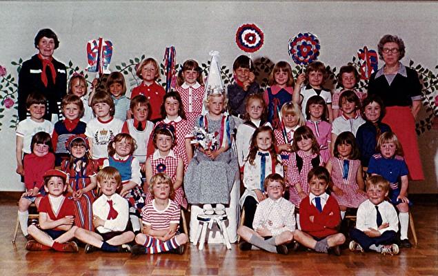 Infant School Silver Jubilee.1977 | Geoff Webb