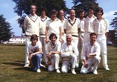 Cricket Club 2nd X1, 1977