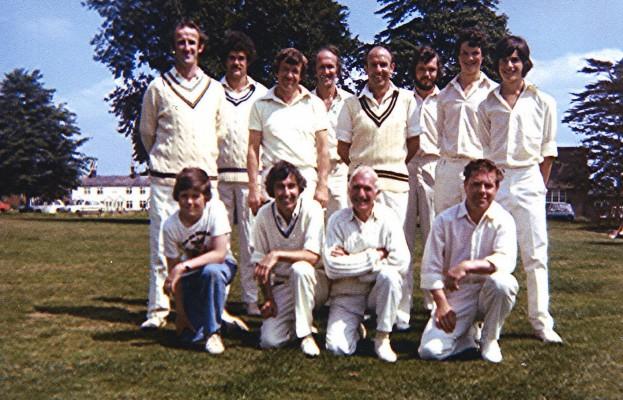 Cricket Club 2nd X1, 1977   Geoff Webb