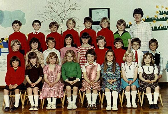 Infant School Class 1978 | Geoff Webb