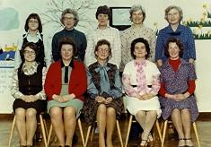 Infants School Staff, 1978
