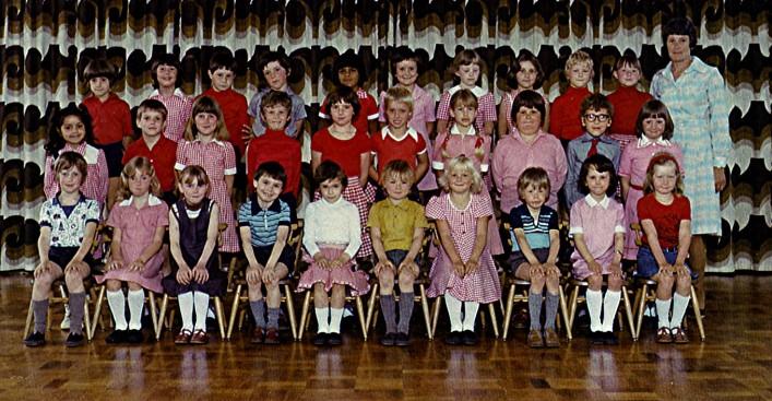 Infants School Class. 1979. | Geoff Webb
