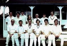 Cricket Club 2nd X1, 1980