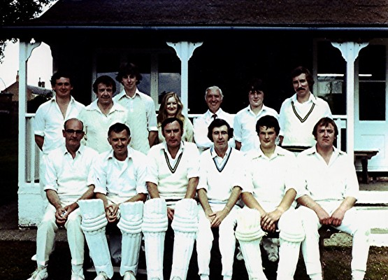 Cricket Club 2nd X1, 1980 | Geoff Webb