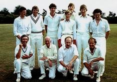 Cricket Club 2nd X1, c.1980