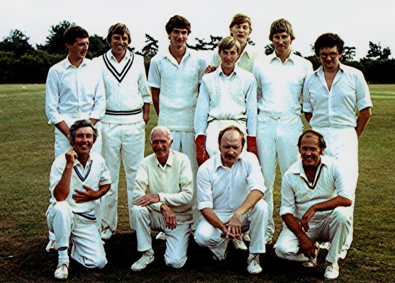 Cricket Club 2nd X1, c.1980 | Geoff Webb