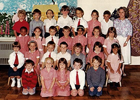 Infants School Class   Geoff Webb