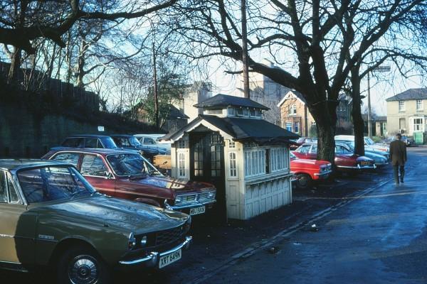 Cabman shelter 1977 | H Pegrum
