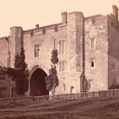 Abbey Gateway about 1875