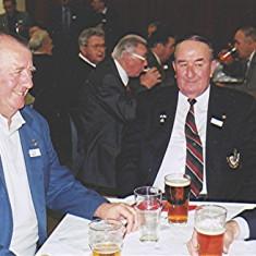 Left to right: Bill and Ken Bolt, John Saunders   Geoff Webb